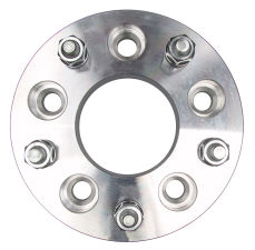 5 LUG Wheel Adapters; 135mm WHEEL Dia; 5 in. HUB Dia; 12mmx1.5 (pr)-ALUMINUM