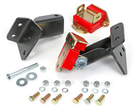 CHEVY V8 (58 or later) in 1955-57 Chevy Cars- POLYURETHANE Motor Mount Kit