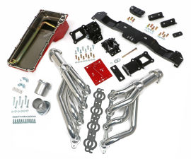 SWAP IN A BOX KIT-LS ENGINE INTO 70-74 F-BODY AUTO TRANS. W/HTC HEADERS