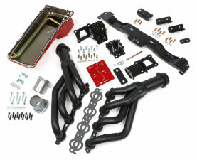 SWAP IN A BOX KIT-LS ENGINE INTO 70-74 F-BODY AUTO TRANS. W/BLACK MAXX HEADERS