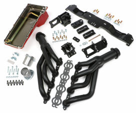 SWAP IN A BOX KIT-LS ENGINE INTO 75-81 F-BODY AUTO TRANS. W/BLACK MAXX HEADERS