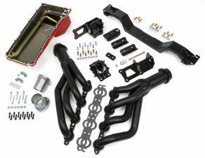 SWAP IN A BOX KIT-LS ENGINE INTO 75-81 F-BODY MANUAL TRANS; BLACK MAXX HEADERS