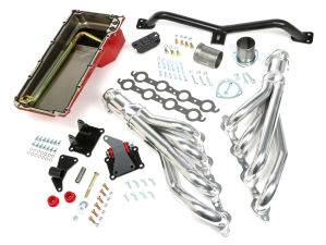 SWAP IN A BOX KIT-LS INTO 2WD 73-87 GM TRUCK/73-91 SUV; AUTO TRANS; HTC HEADERS