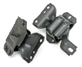 OE STYLE RUBBER ENGINE MOUNT PADS; FORD 4.6L MUSTANG