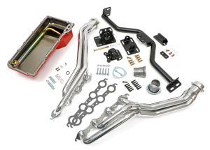 Engine Swap In A Box Kit; LS in 82-04 S10/S15 (only); Long Tube Headers- HTC