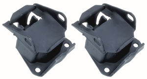 Heavy-Duty Replacement Motor Mount Pads for Chevy 4.3L Engines- For #4671, #4691