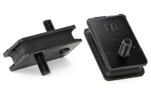 Heavy-Duty replacement MOPAR motor mount pads-(2-Short)