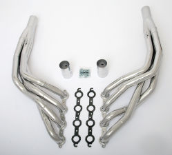 LS in 1968-74 X-Body Headers; 1-7/8 x 2 in. Dia, Stepped Long Tube-HTC