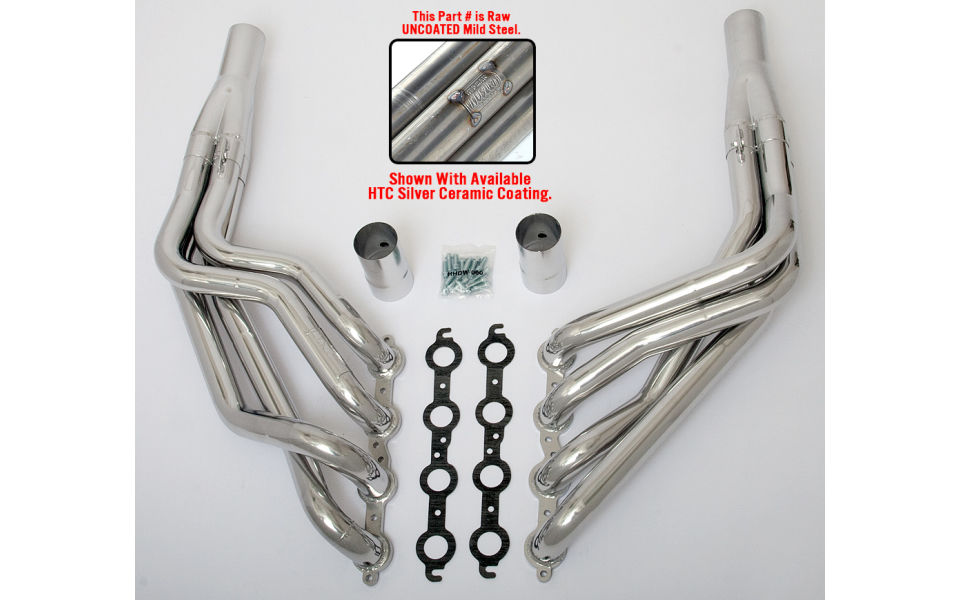 photo of Long Tube Husler LS swap headers for 1955-1957 Chevy tri-5 cars