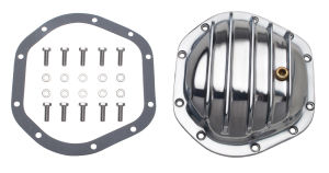 DANA 44 (10 Bolt), Polished Aluminum Differential Cover Kit