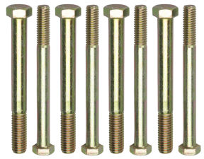 ENGINE STAND BOLTS; 3/8 in.-16 x 4 in. and 7/16 in.-14 x 4 in. (4 each)