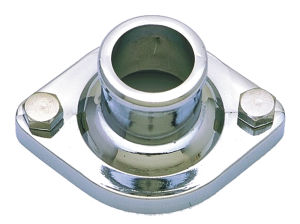 Water Neck; CHRYSLER V8; (Gasket Seal); -CHROME