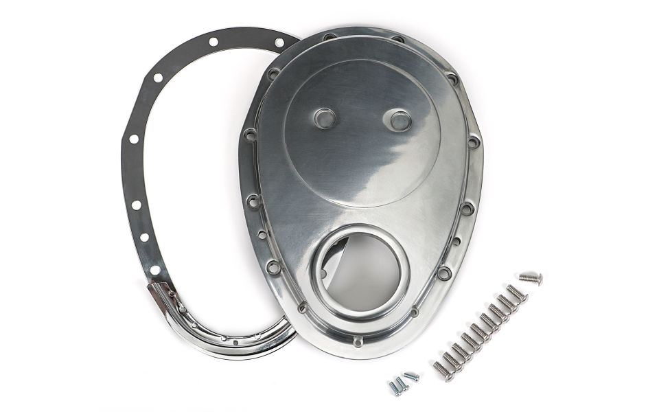 Photo of 2 piece Aluminum Timing Cover Kit for Gen 1 SB Chevy V8s and 4.3L V6