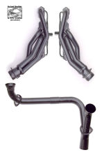 HTC Coated Headers; 1-5/8 in. Tube Dia; Stock Coll; Mid-Length Design