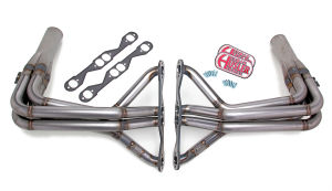 STREET/STRIP Headers;CHEVY TRI-5 283-400; 1-3/4 in.x1-7/8 in. Stepped