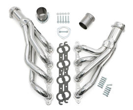 1978-88 A-BODY/G-BODY LS SWAP HEADER - MILD STEEL - 1 3/4 in. - HTC COATED