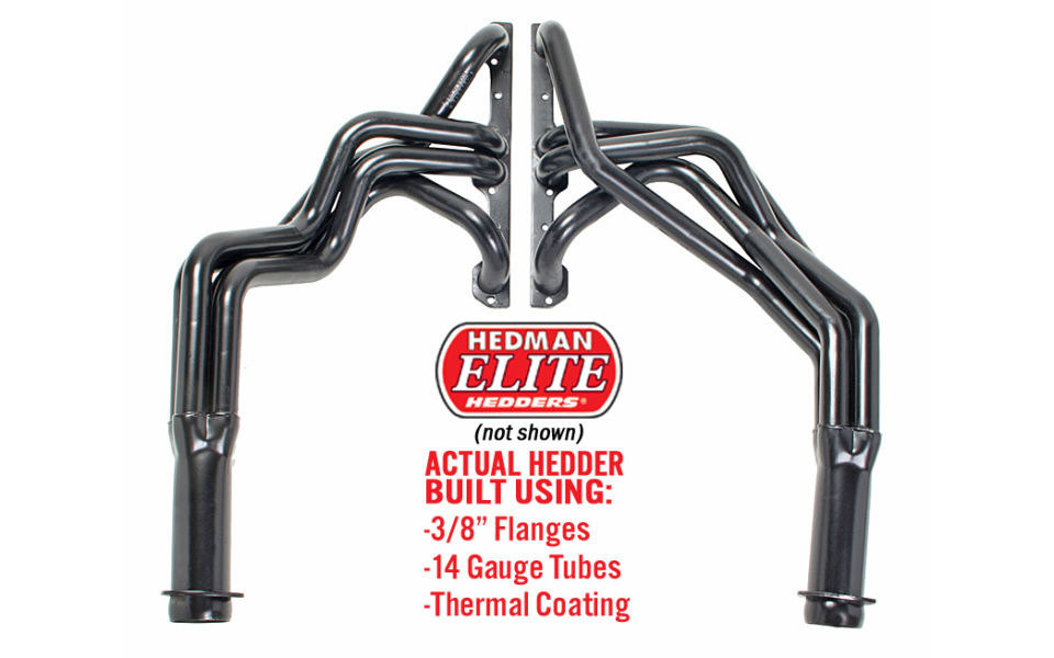 heavy-duty headers for 1955-57 Chevy Tri 5 vehicles. Bel air, Nomad, 150, 210