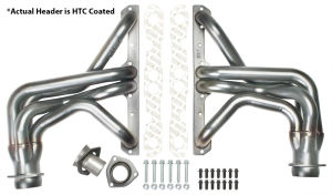 STAINLESS STEEL Hedders; 1-5/8 in. Tube Dia; FULL LENGTH Design-HTC Coated