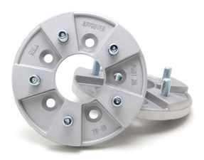 5 LUG LIGHT-DUTY Wheel Adapters; 4 in. Hub Dia; 4.5 in. Wheel Dia;1/2 in. Stud