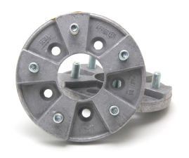 5 LUG LIGHT-DUTY Wheel Adapters; 4 in. Hub Dia; 5 in. Wheel Dia; 1/2 in. Studs