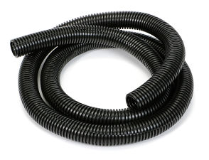 BLACK Wire Harness; Convoluted; 3/4 in. Diameter- (5 ft)