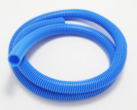 BLUE Wire Harness; Convoluted; 3/4 in. Diameter- (5 ft)