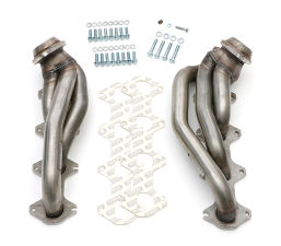 2005-2010 Ford Mustang GT Hedders;1-5/8 in. Short Tube; Stainless Steel-UNCOATED