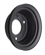 CRANKSHAFT Pulley; 1 Groove; 65-66 FORD 289; O.E. Water Pump- ASPHALT BLACK