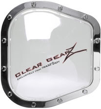 CLEARGEARZ Clear Differential Cover; Ford F Series (12 Bolt)- Clearance