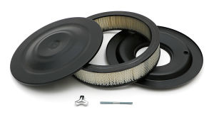ASPHALT BLACK POWDER COATED 14 in. X 4 in. AIR CLEANER