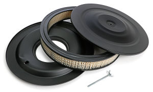 ASPHALT BLACK POWDER COATED 14 in. X 3 1/4 in. AIR CLEANER