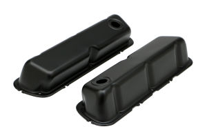 SB FORD ASPHALT BLACK POWDER COATED VALVE COVERS