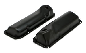 FORD 351C ASPHALT BLACK POWDER COATED VALVE COVERS