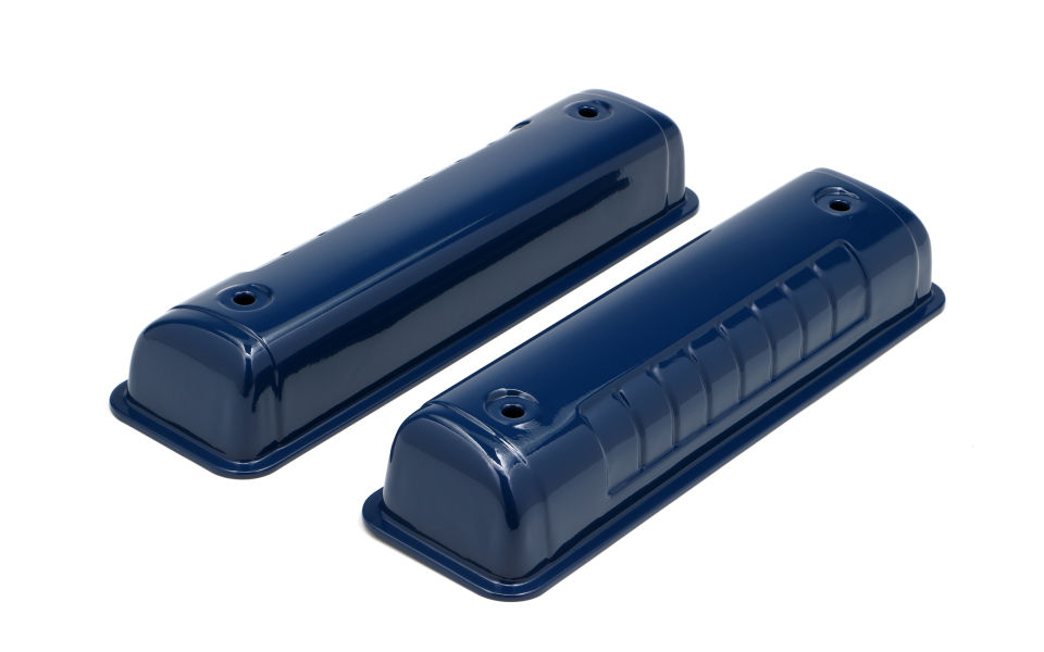 FORD 292-312 FORD BLUE POWDER COATED VALVE COVERS