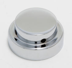 WATER RESERVOIR CAP Cover; 1988-99 Chevy/GMC Pick-ups and Cars-CHROME