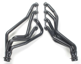 64-73 MUSTANG 351W Engine Swap Headers; 1-5/8 FULL-LENGTH Tube-Standard Uncoated