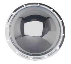 JEEP Corporate M20 (12 Bolt), Complete Chrome Differential Cover Kit