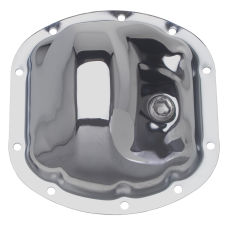 DANA 25-27-30 (10 Bolt), Complete Chrome Differential Cover Kit