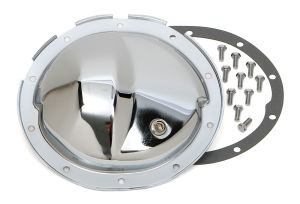 GM Intermed., 88-06 GM 1/2 Ton (10 Bolt), Complete Chrome Differential Cover Kit