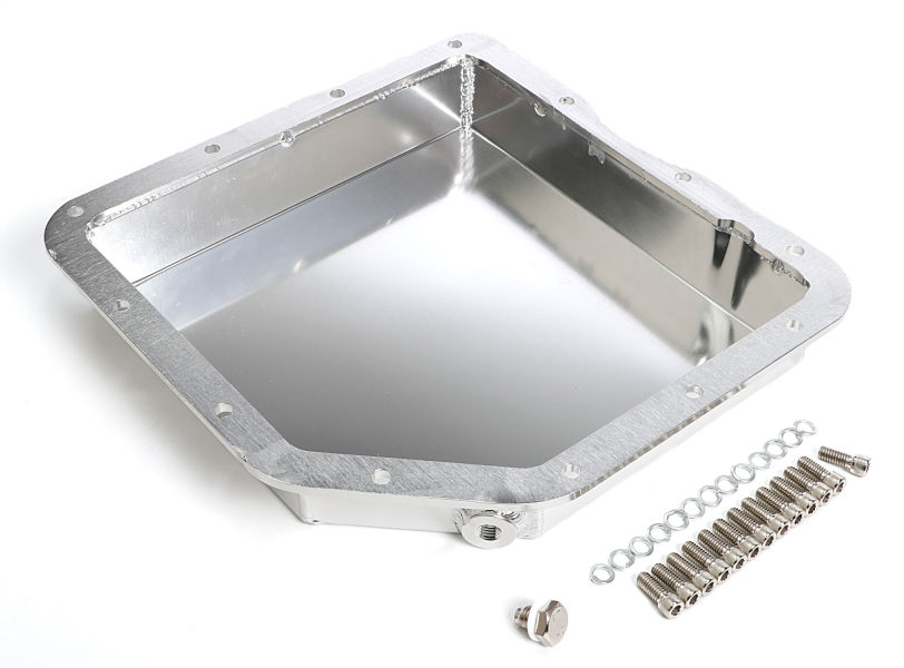 FABRICATED ALUMINUM TRANSMISSION PAN; GM TH350