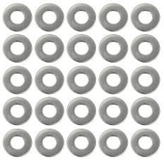 1/4 in. Valve Cover Flat Washers (25 per pkg.)- STAINLESS STEEL