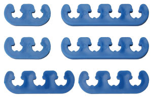 BLUE DELUXE Style Plug Wire Separators. Fits 7 to 9mm Wires
