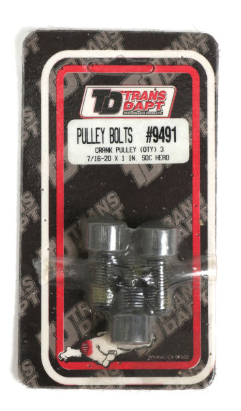 CRANKSHAFT Pulley Bolts; 7/16-20 x 1