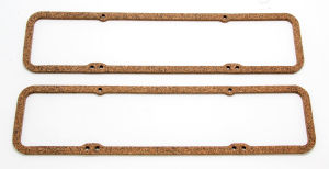 5/16 in. Thick Valve Cover Gaskets (CORK); 1955-86 Chevy V8 265-350