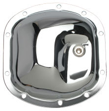 Dana 25, 27, 30 Thick 10-Bolt; Chrome Differential Cover Only