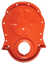 CHEVY ORANGE Timing Chain Cover (only)- 1965-90 Chevy 396-454