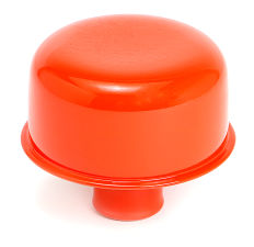 PUSH-IN Breather Cap Only (no Grommet); 2-3/4 in. Overall Diameter- CHEVY ORANGE